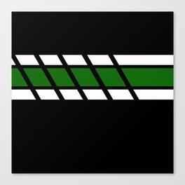 Team Colors 4...Green Canvas Print