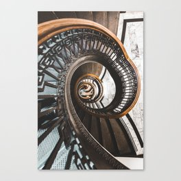 Stairs of Knowledge Canvas Print