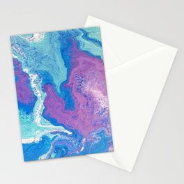 Lavender Blue Stationery Cards