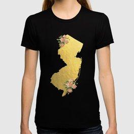 Baesic Gold Foil New Jersey T-shirt