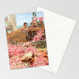 The Roses of Heliogabalus by Sir Lawrence Alma-Tadema Stationery Cards