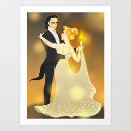 A dance Art Print