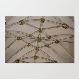 Yorkminster Ceiling Canvas Print