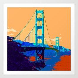 Golden_Gate_Bridge_010 Art Print