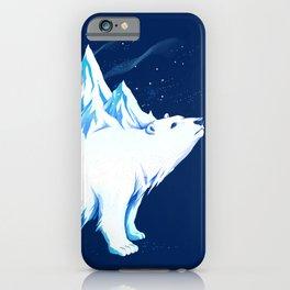Icebearg Polar Bear iPhone Case