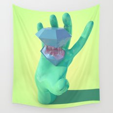 Purple Gusher Wall Tapestry