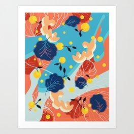 Sunny Summer Art Print