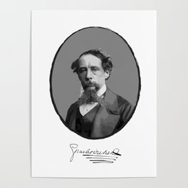 Authors - Charles Dickens Poster