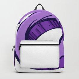 Male Color Illustration Backpack