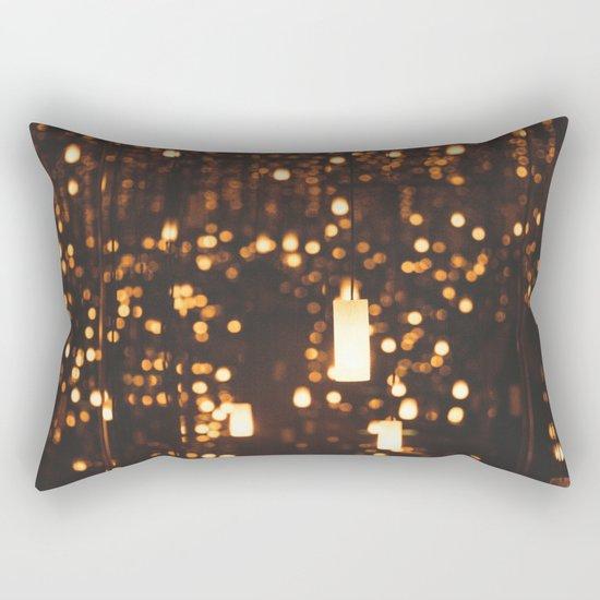 By Candlelight Rectangular Pillow