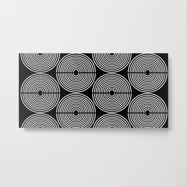 ROUND_ROUND_001 Metal Print