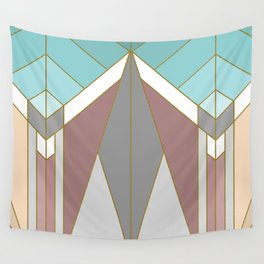 ART DECO G2 (abstract geometric) Wall Tapestry
