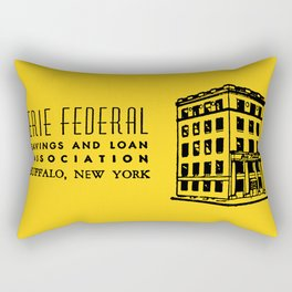 Erie Federal Savings & Loan Rectangular Pillow