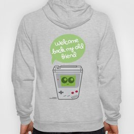 Welcome Back My Old Friend (Gameboy) Hoody
