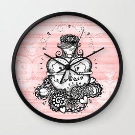 Heart Girl Wall Clock