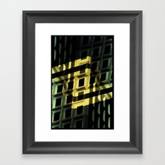 Landscapes c17 (35mm Double Exposure) Framed Art Print