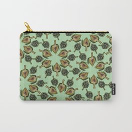 Swirling Artichokes Carry-All Pouch