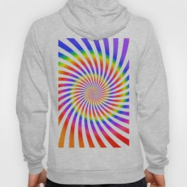 Abstract Spiral Pattern Hoody