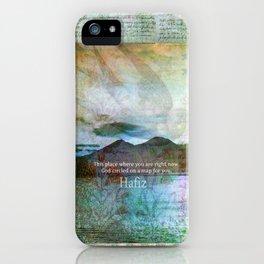 HAFIZ quote iPhone Case