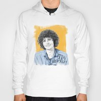 tim shumate Hoodies featuring Tim Buckley by Daniel Cash