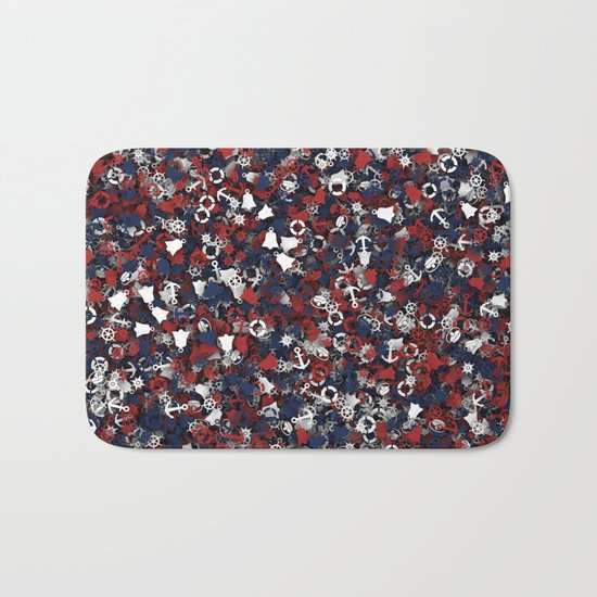 Nautical things Bath Mat