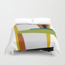Mid Century Composition 2 Duvet Cover