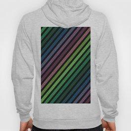 strIpes Colorful Dark Pixels Hoody