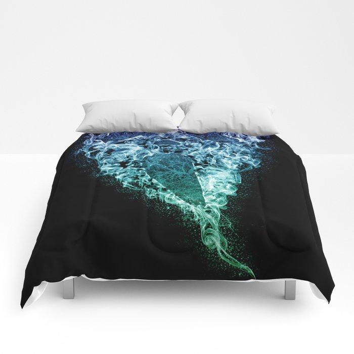 Death (Color) Comforters