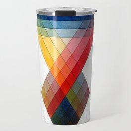 Prismatic Color Travel Mug