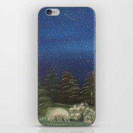 Starry Night - Pure Nature iPhone Skin