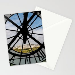 Clock at the Musee d'Orsay Stationery Cards