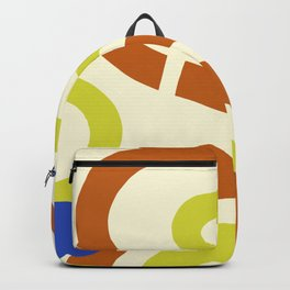 Abstract Retro Lines Backpack