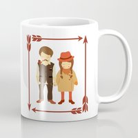 thanksgiving Mugs featuring Thanksgiving Happiness by Elena Kouvaros