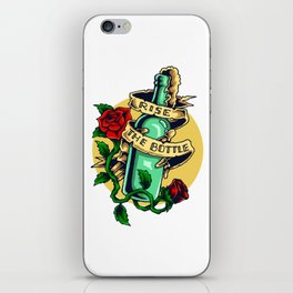 Rise the Bottle iPhone Skin