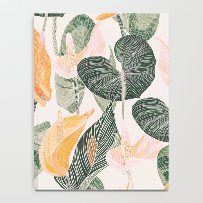 Lush Lily - Autumn Notebook