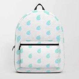 Drop Mint Pattern Backpack