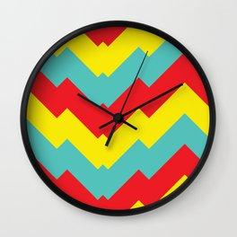 Motif minimaliste 7 Wall Clock