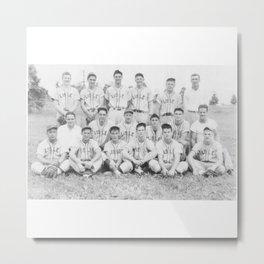 Old Lisle baseball team Metal Print