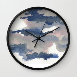 clouds_march Wall Clock