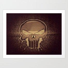 Death By Punishment Art Print