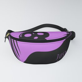 Just a Girl Who Likes Pirates Skull Flag Fanny Pack