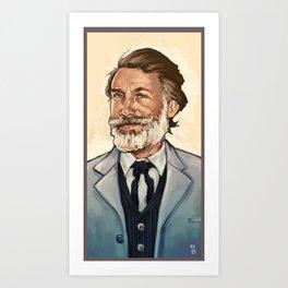 King Shultz Art Print