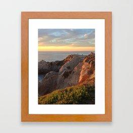Gold Bluffs Framed Art Print