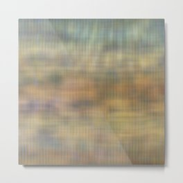 Soft light abstract wicker  Metal Print