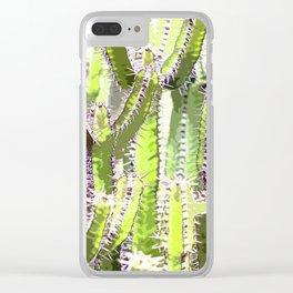 Cactus of desert plants Clear iPhone Case