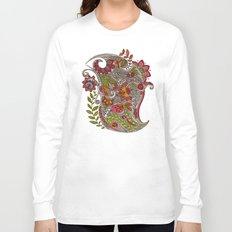 Random Flowers Long Sleeve T-shirt