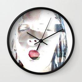 Pray for Rain Wall Clock