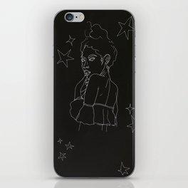 star girl inverse iPhone Skin
