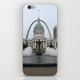 St. Louis arch iPhone Skin