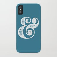 ampersand iPhone & iPod Cases featuring Ampersand by andyglenndavies